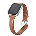 رخيصةأون أساور ساعات FitBit-حزام إلى Fitbit Versa فيتبيت بكلة عصرية جلد طبيعي شريط المعصم