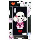 זול מגנים לאייפון-מגן עבור Apple iPhone X / iPhone 8 Plus / iPhone 8 תבנית כיסוי אחורי כלב קשיח זכוכית משוריינת