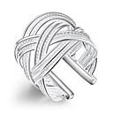 ieftine Brățări-Pentru femei Inel de declarație inel de înfășurare degetul mare Argintiu Alamă Argilă femei Neobijnuit Design Unic Petrecere Bijuterii Ajustabil