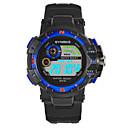 رخيصةأون ساعات الرجال-SYNOKE رجالي ساعة رياضية ساعة رقمية ياباني رقمي جلد اصطناعي أسود 30 m مقاوم للماء رزنامه الكرونوغراف رقمي موضة - أحمر أخضر أزرق / قضية