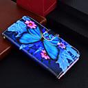 رخيصةأون إكسسوارات سامسونج-غطاء من أجل Samsung Galaxy J7 (2017) / J5 (2017) / J3 (2017) محفظة / حامل البطاقات / مع حامل غطاء كامل للجسم فراشة قاسي جلد PU