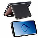 رخيصةأون Huawei أغطية / كفرات-غطاء من أجل Samsung Galaxy S9 / S9 Plus / S8 Plus محفظة / حامل البطاقات / مع حامل غطاء خلفي لون سادة ناعم جلد PU / نحيف جداً