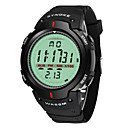 رخيصةأون ساعات الرجال-SYNOKE رجالي ساعة رياضية ساعة رقمية رقمي جلد اصطناعي أسود 30 m مقاوم للماء رزنامه الكرونوغراف مماثل رقمي موضة - أسود رمادي / قضية / طرد كبير