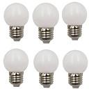 ieftine Becuri LED Glob-6pcs 2 W Bulb LED Glob 80 lm E26 / E27 G45 8 LED-uri de margele SMD 2835 Decorativ Crăciun decor de nunta Alb Cald Alb Rece 220-240 V / RoHs