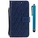 رخيصةأون Samsung أغطية / كفرات-غطاء من أجل Samsung Galaxy A6 (2018) / A6+ (2018) / A5 (2017) محفظة / حامل البطاقات / مع حامل غطاء كامل للجسم زهور قاسي جلد PU