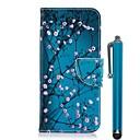 رخيصةأون حافظات / جرابات هواتف جالكسي A-غطاء من أجل Samsung Galaxy A6 (2018) / A6+ (2018) / A5 (2017) محفظة / حامل البطاقات / مع حامل غطاء كامل للجسم زهور قاسي جلد PU