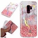 economico Custodie / cover per Galaxy serie S-Custodia Per Samsung Galaxy S9 / S9 Plus / S8 Plus Placcato / IMD / Fantasia / disegno Per retro Effetto marmo Morbido TPU
