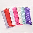 ieftine Mănuși & Mănuși 1 deget-spandex Fabric Lungime Cot Mănușă Stil Vintage / Mănuși Cu Solid
