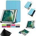 رخيصةأون أغطية أيباد-غطاء من أجل Apple ايباد ميني 5 / iPad New Air (2019) / iPad Air مع حامل / مغناطيس غطاء كامل للجسم لون سادة قاسي TPU / iPad Pro 10.5