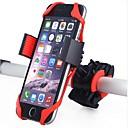 رخيصةأون Grips-حامل الجوال للدراجة 360 الدوارة من أجل دراجة الطريق دراجة جبلية ركوب الدراجة البلاستيك جيل سيليكا أسود أحمر