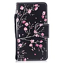 رخيصةأون Huawei أغطية / كفرات-غطاء من أجل Samsung Galaxy J3 (2017) محفظة / حامل البطاقات / قلب غطاء كامل للجسم زهور قاسي جلد PU