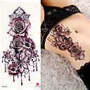 ieftine Tatuaje Temporare-3 pcs Tatuaje temporare Smooth Sticker / Siguranță braț / umăr Hârtie cărți de masă / Decorative în stil tatuaj temporar