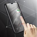 povoljno Maske/futrole za Huawei-Θήκη Za Samsung Galaxy J8 / J7 Duo / J6 sa stalkom / Pozlata / Zrcalo Korice Jednobojni Tvrdo PU koža