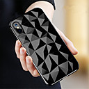 povoljno iPhone maske-Θήκη Za Apple iPhone X / iPhone 8 Plus / iPhone 8 Prozirno Stražnja maska Geometrijski uzorak Mekano TPU