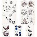 ieftine Costume Cosplay-5 pcs Tatuaje temporare Serie de totemuri / Cartoon Series Smooth Sticker / Ecologic Arta corpului mâini / braț / carp / Decorative în stil tatuaj temporar