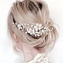 povoljno Nakit za kosu-Žene Cvjetni print Jednostavan Ukriženo,Tekstil Legura-Kristal / Kosa Combs