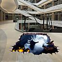 رخيصةأون ملصقات ديكور-ملصقات الكلمة - لواصق Halloween / 3D غرفة الجلوس / غرفة النوم / دورة المياه