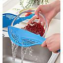 رخيصةأون أدوات & أجهزة المطبخ-الحوت وعاء مصفاة الأرز الفاكهة الخضروات غسل الصحون أدوات المطبخ