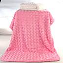 رخيصةأون أدوات الفرن-حجم واحد أزرق / أبيض / وردي بلاشيهغ منشفة لون سادة للجنسين طفل رضيع