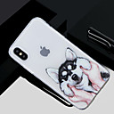 رخيصةأون Samsung أغطية / كفرات-غطاء من أجل Apple iPhone X / iPhone 8 Plus / iPhone 8 نموذج غطاء خلفي كلب ناعم TPU