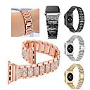 povoljno Smart Wristbands-Pogledajte Band za Fitbit Blaze / Apple Watch Series 5/4/3/2/1 Apple Sportski remen Nehrđajući čelik Traka za ruku