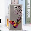 voordelige Galaxy J-serie hoesjes / covers-hoesje Voor Samsung Galaxy J7 (2017) / J6 / J5 (2017) Transparant / Patroon Achterkant Vlinder Zacht TPU