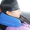 رخيصةأون مفروشات التخييم-BSwolf التخييم السفر وسادة وسادة في الهواء الطلق تخييم المحمول قابل للاشتعال إلغاء الضوضاء خفيف جدا (UL) مقطع بوليستر 25*35 cm إلى Everyday Use السفر كل الفصول أزرق
