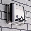 رخيصةأون أدوات الحمام-آلة الصابون تصميم جديد / كوول معاصر الفولاذ المقاوم للصدأ / الحديد 1PC - حمام مثبت على الحائط