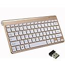 رخيصةأون لوحات المفاتيح-LITBest Mini 2.4GHz اللاسلكية لوحة المفاتيح مكتب ميني هادئ 78 pcs مفاتيح
