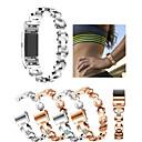 رخيصةأون الأساور الذكية-حزام إلى Fitbit Charge 2 فيتبيت عصابة الرياضة / تصميم المجوهرات ستانلس ستيل / خزفي شريط المعصم