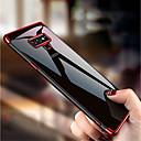 رخيصةأون إكسسوارات سامسونج-غطاء من أجل Samsung Galaxy Note 9 / Note 8 / Note 5 تصفيح / شبه شفّاف غطاء خلفي لون سادة ناعم TPU