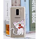 povoljno Ukrasne naljepnice-Θήκη Za Samsung Galaxy A6 (2018) / A6+ (2018) / A3 (2017) Prozirno / Uzorak Stražnja maska Mačka Mekano TPU