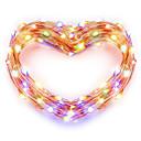 povoljno Kompleti svjetala-zdm usb bakrena žica svjetla vila string 5m / 16.5ft 50leds sa 7 različitih boja rgb promjena automatski vodootporan odmor ukrasne svjetiljke string (automatska promjena boje)
