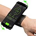 povoljno LED svjetla u traci-Torbica za nadlakticu Mobitel Bag Prilagodljivo Mala težina Visoka elastičnost Vanjski Putovanje Trčanje Fitness Lycra spandex Zelen Plava Pink