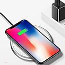 olcso Vezeték nélküli töltők-kilenc öt nt3 univerzális cink ötvözet bőr qi vezeték nélküli töltő alma iphone x iphone8 samsung s8 s7