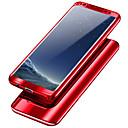 baratos Capinhas para Galaxy Série S-Capinha Para Samsung Galaxy S9 / S9 Plus / S8 Plus Antichoque / Galvanizado Capa Proteção Completa Sólido Rígida PC