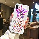 رخيصةأون Huawei أغطية / كفرات-غطاء من أجل Apple iPhone X / iPhone 8 Plus / iPhone 8 شفاف / نموذج غطاء خلفي مأكولات / فاكهة ناعم TPU