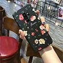 رخيصةأون حافظات / جرابات هواتف جالكسي S-غطاء من أجل Samsung Galaxy S9 / S9 Plus / S8 Plus مثلج غطاء خلفي زهور قاسي الكمبيوتر الشخصي