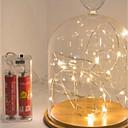 povoljno Dekoracija doma-3m žarulje sa žicama 30 LED vodootporni aa baterije powered Christmas Christmas New Year poklon svjetiljka