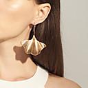 ieftine Cercei-Pentru femei Cercei Picătură fan cercei Lung Temă Florală femei Έθνικ Modă Boho cercei Bijuterii Auriu / Argintiu Pentru Zilnic Serată 1 Pair