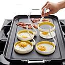 ieftine Audio & Video-Nailon Mold DIY DIY Tools Cea mai buna calitate Bucătărie Gadget creativ Reparații Instrumente pentru ustensile de bucătărie pentru ou 2pcs