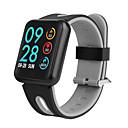 povoljno Pametni satovi-P68 Muškarci Smart Narukvica Android iOS Bluetooth Sportske Vodootporno Heart Rate Monitor Mjerenje krvnog tlaka Ekran na dodir Brojač koraka Podsjetnik za pozive Mjerač aktivnosti Mjerač sna sjedeći