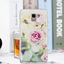 رخيصةأون حافظات / جرابات هواتف جالكسي S-غطاء من أجل Samsung Galaxy J7 (2017) / J6 / J5 (2017) شفاف / نموذج غطاء خلفي زهور ناعم TPU
