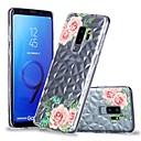 رخيصةأون المكياج & العناية بالأظافر-غطاء من أجل Samsung Galaxy S9 / S9 Plus / S8 Plus شفاف / نموذج غطاء خلفي زهور ناعم TPU