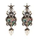 povoljno Naušnice-Žene Viseće naušnice Sa stilom dame Naušnice Jewelry Zelen Za Dar Karneval 1 par