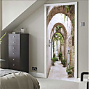 رخيصةأون الستائر-لواصق حائط مزخرفة - لواصق حياة هادئة / 3D غرفة النوم / داخلي