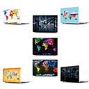 """voordelige Beschermende uitrusting-MacBook Hoes Kaart / 3D Cartoon PVC voor Nieuwe MacBook Pro 13"""" / MacBook Air 13"""" / MacBook 12''"""