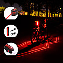 ieftine Căști-Laser LED Lumini de Bicicletă Iluminat Bicicletă Spate lumini de securitate Ciclism montan Bicicletă Ciclism Rezistent la apă Portabil Ajustabil Ușor 150 lm Reîncărcabil USD Roșu Camping / Cățărare
