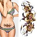 ieftine Tatuaje Temporare-2 pcs Acțibilde de Tatuaj Tatuaje temporare Serie de totemuri / Serie de Flori Ecologic / Model nou Arta corpului Corp / braț / Piept / Decorative în stil tatuaj temporar / Tatuaj autocolant