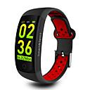 رخيصةأون الأساور الذكية-q6s smart watch bt 4.0 دعم تعقب اللياقة البدنية يخطر ويحسب الخطوات المتوافقة هواتف Samsung / sony android و iphone